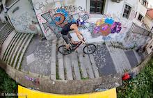 Bratislava City Downhill Track Walk