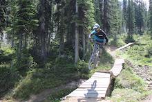 Kicking Horse Bike Park - Trail Crew Update 3 - 2013