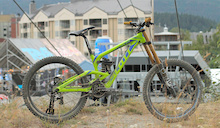 Brendan Fairclough's Scott Gambler Race Bike - Crankworx Whistler 2013
