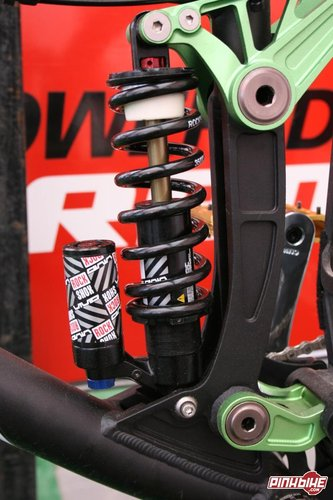 More on this new rear shock in the coming days-The Rock Shox Vivid